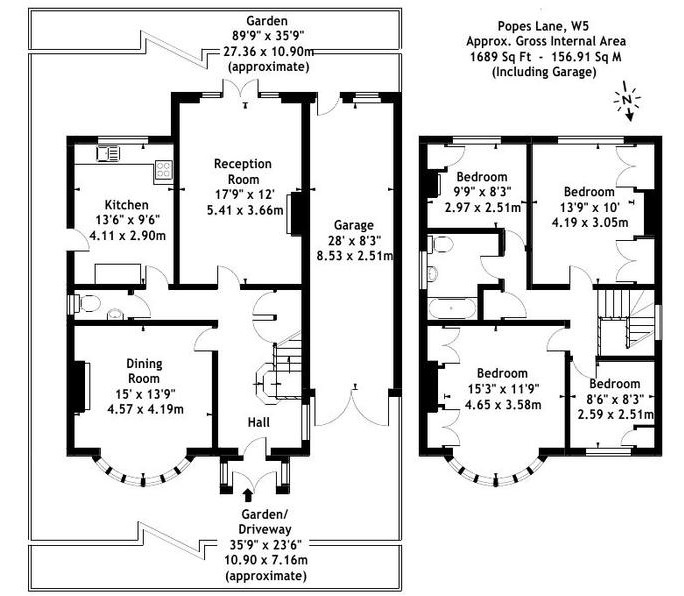 Floorplan - 4 Bedroom House for Sale