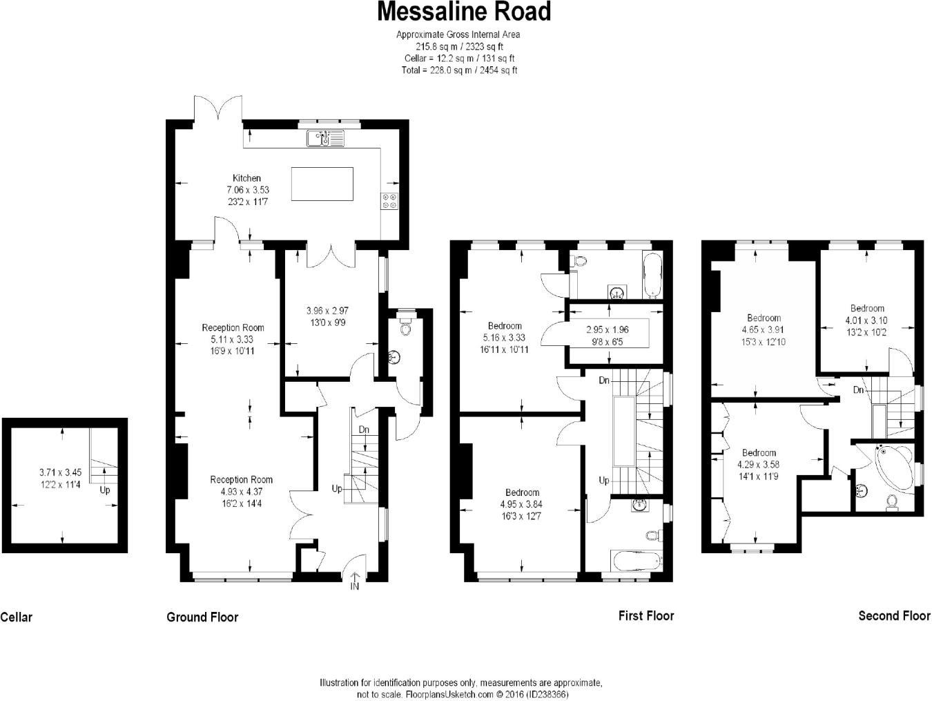Floorplan - 6 Bedroom House for Sale